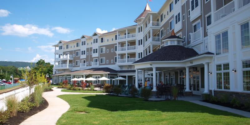 Watkins Glen Harbor Hotel on Seneca Lake in Watkins Glen